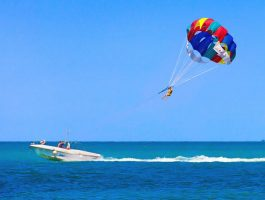 parasailing adventure